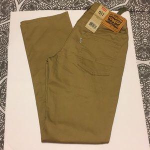 NWT Boys Levi's Khakis Size 14